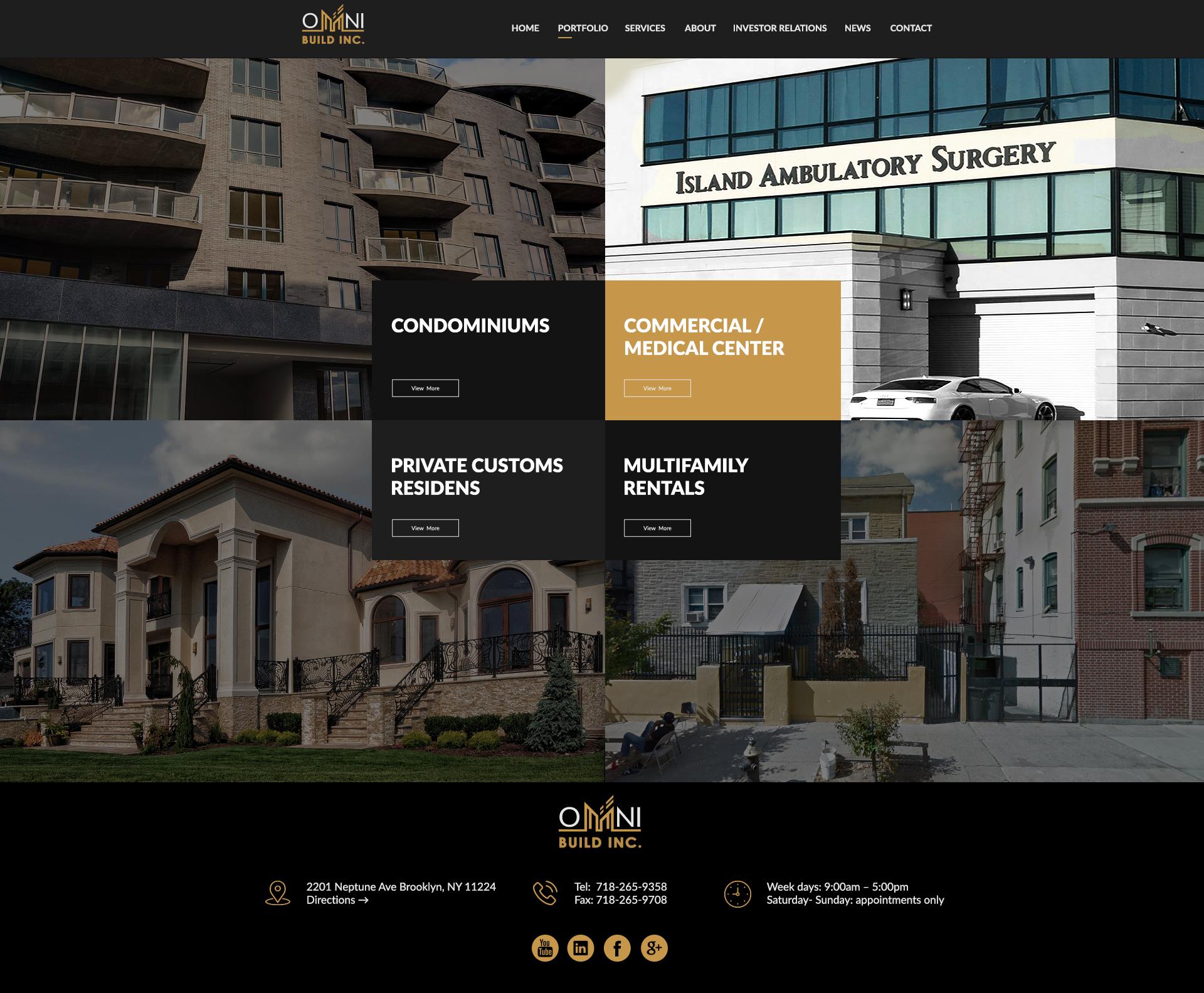OB PORTFOLIO - Omni Build Inc