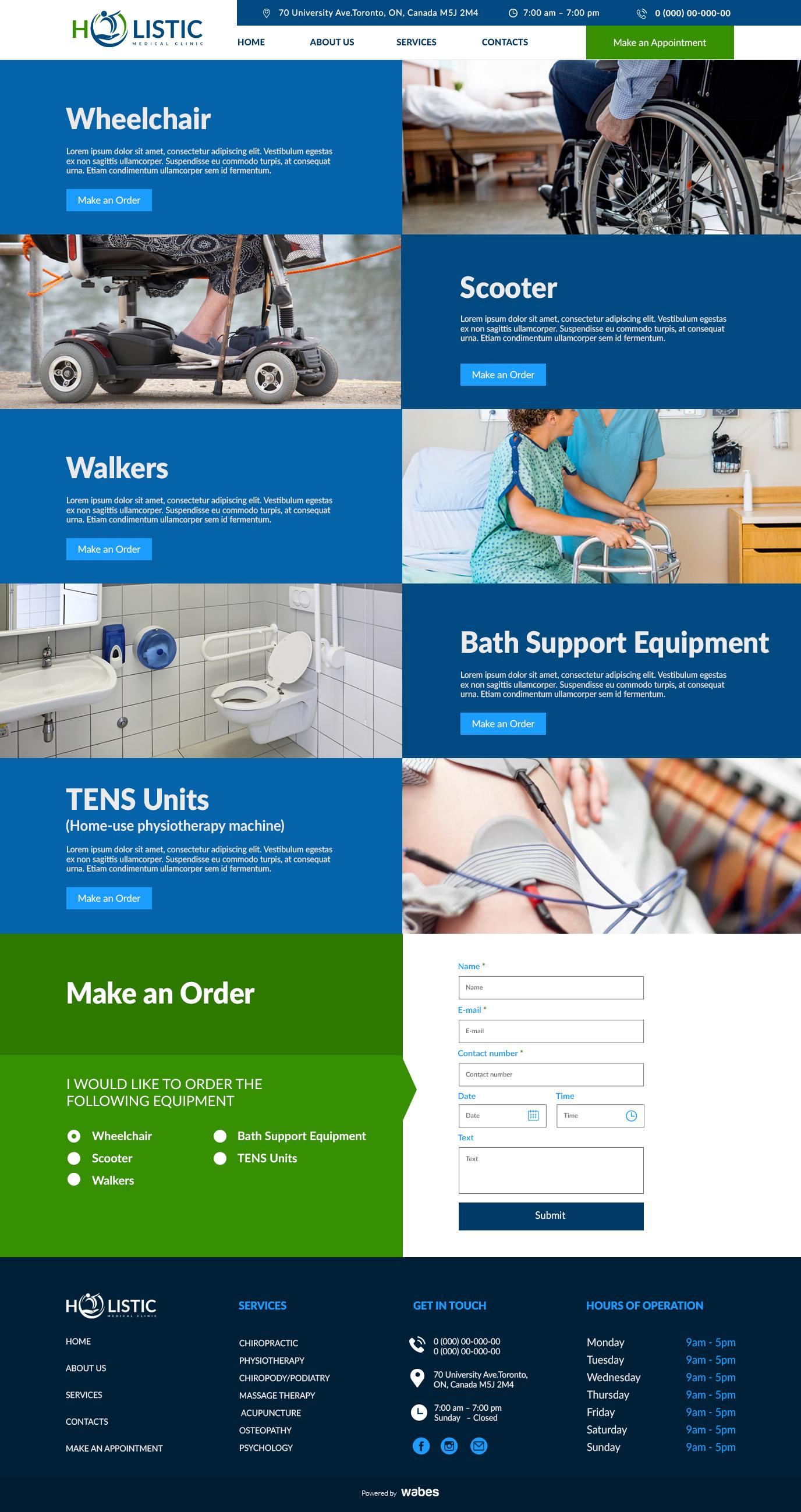 Medical Equipment - Holistic
