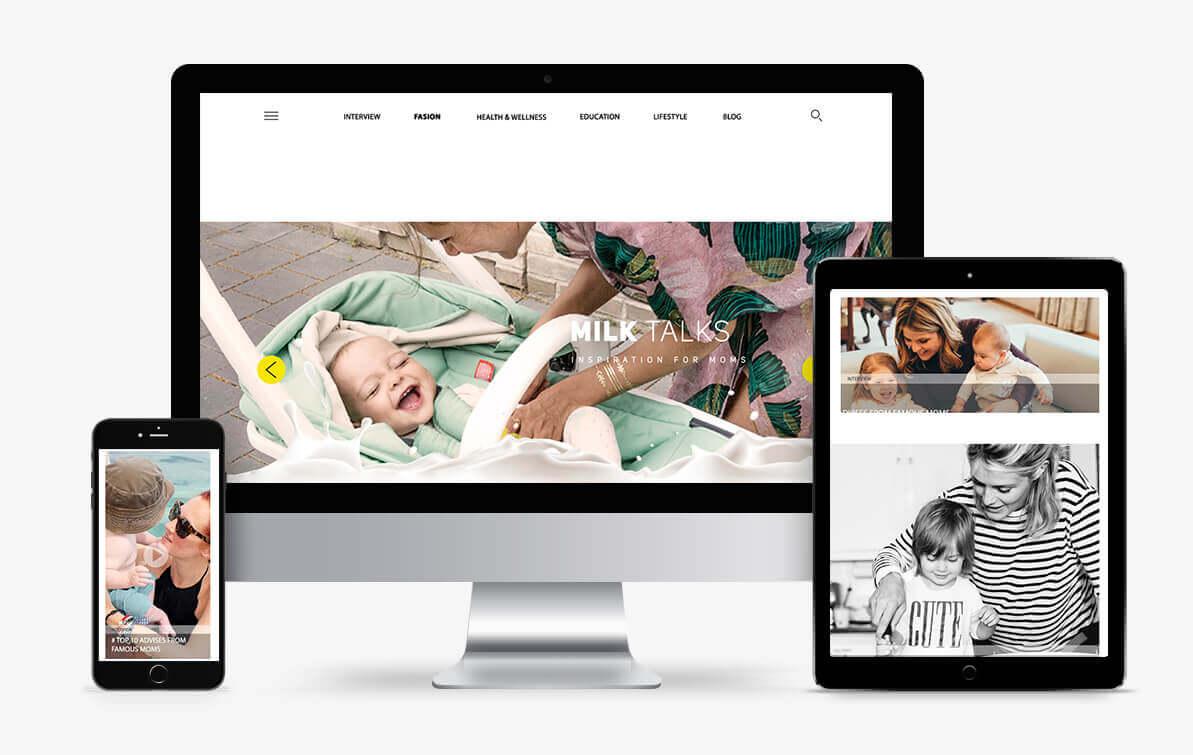 baby blog website
