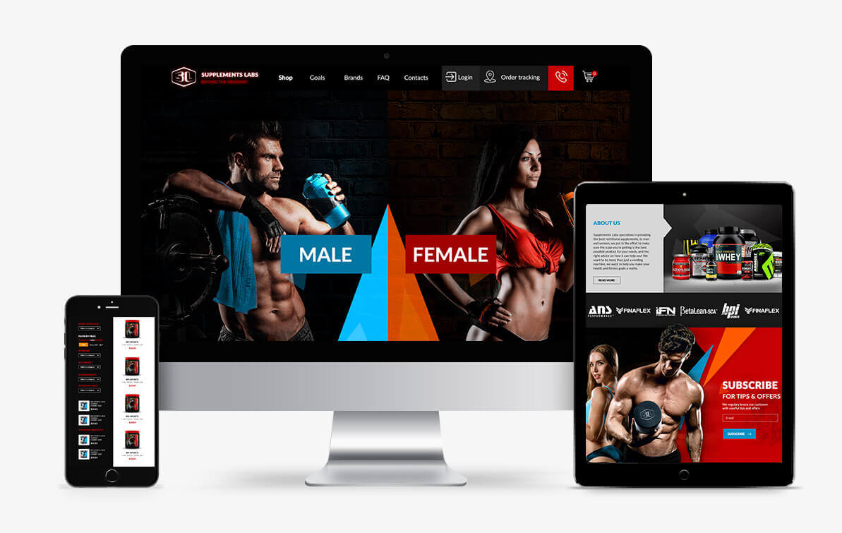 sport nutrition website