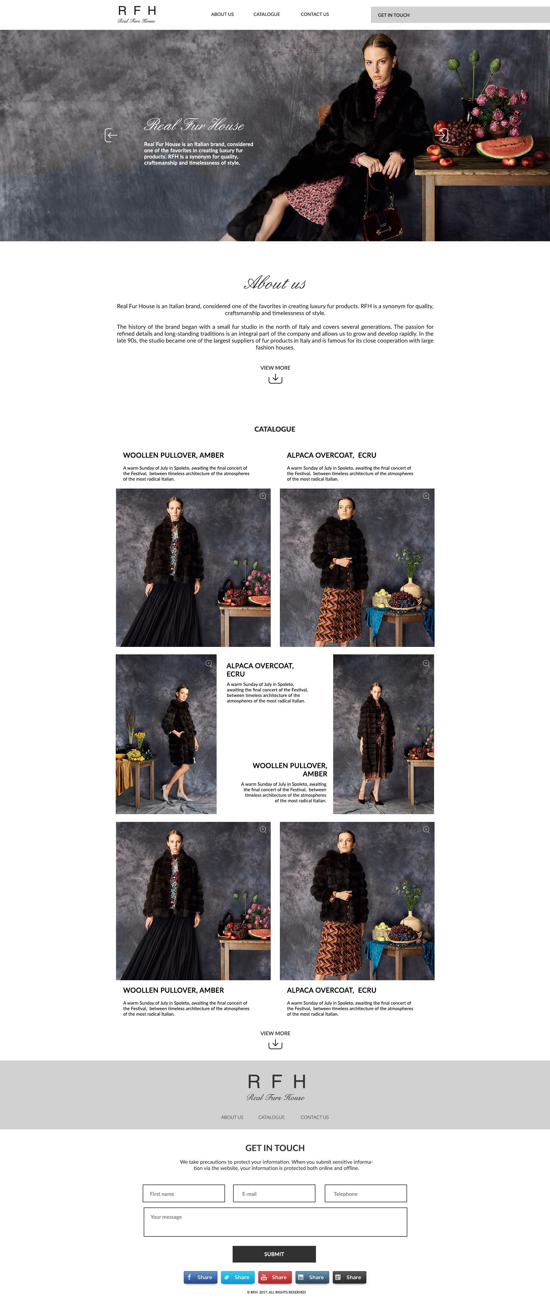 fur website design